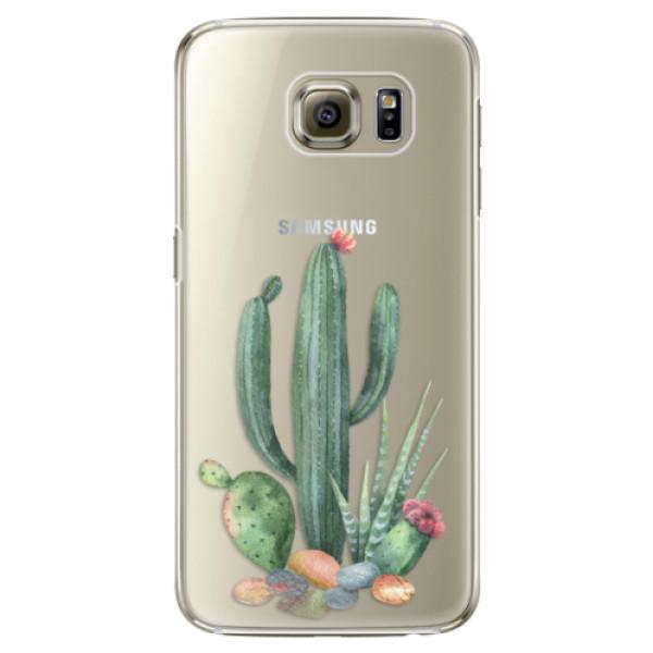 Plastové puzdro iSaprio - Cacti 02 - Samsung Galaxy S6 Edge Plus