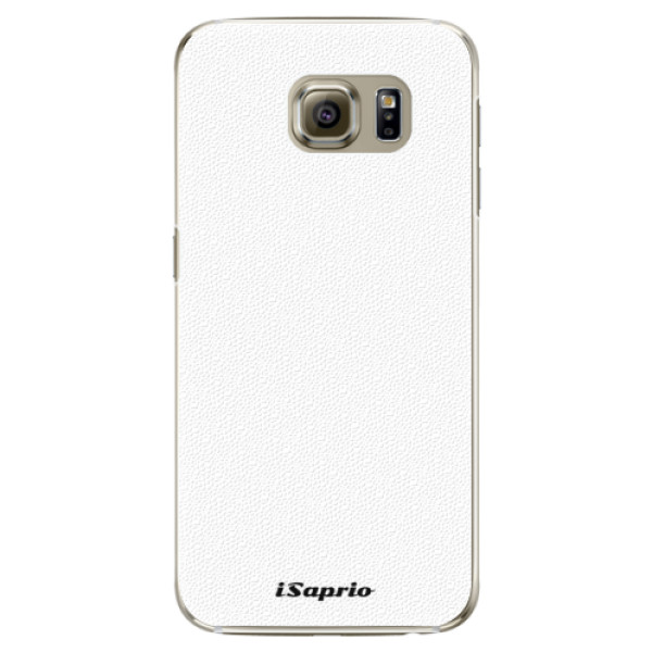 Plastové puzdro iSaprio - 4Pure - bílý - Samsung Galaxy S6 Edge Plus