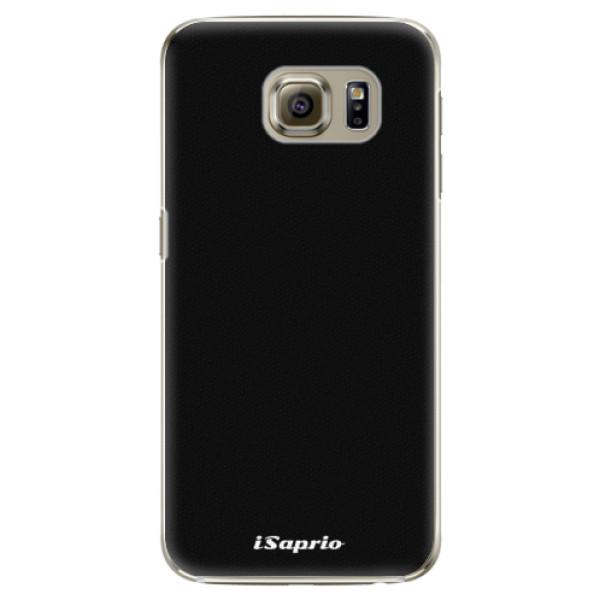 Plastové puzdro iSaprio - 4Pure - černý - Samsung Galaxy S6 Edge Plus