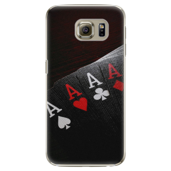 Plastové puzdro iSaprio - Poker - Samsung Galaxy S6 Edge Plus
