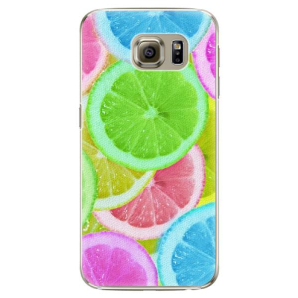 Plastové puzdro iSaprio - Lemon 02 - Samsung Galaxy S6 Edge Plus