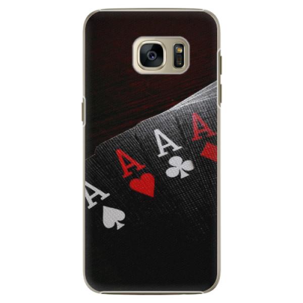 Plastové puzdro iSaprio - Poker - Samsung Galaxy S7 Edge