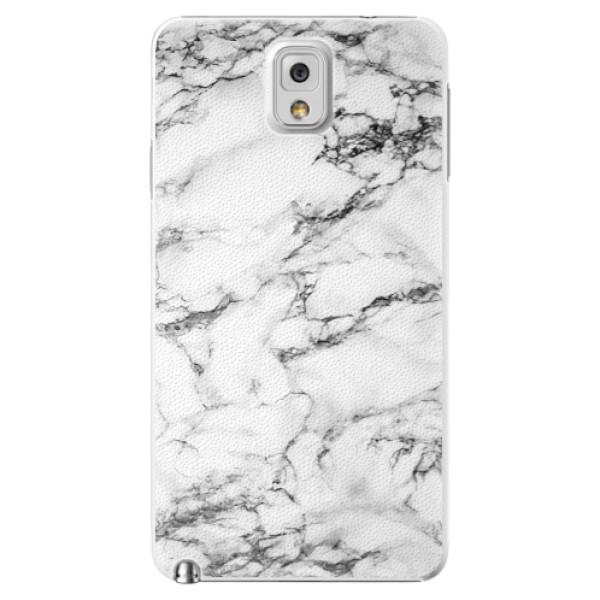 Plastové puzdro iSaprio - White Marble 01 - Samsung Galaxy Note 3