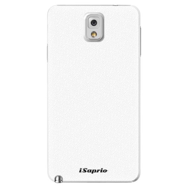 Plastové puzdro iSaprio - 4Pure - bílý - Samsung Galaxy Note 3