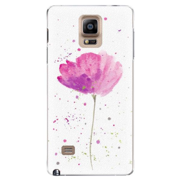 Plastové puzdro iSaprio - Poppies - Samsung Galaxy Note 4