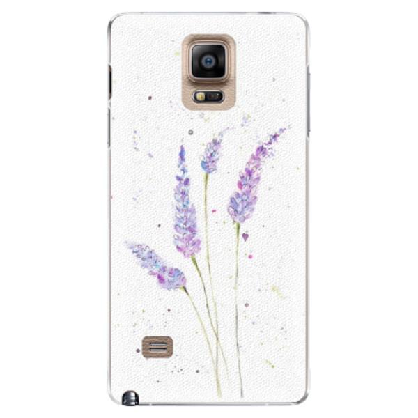 Plastové puzdro iSaprio - Lavender - Samsung Galaxy Note 4