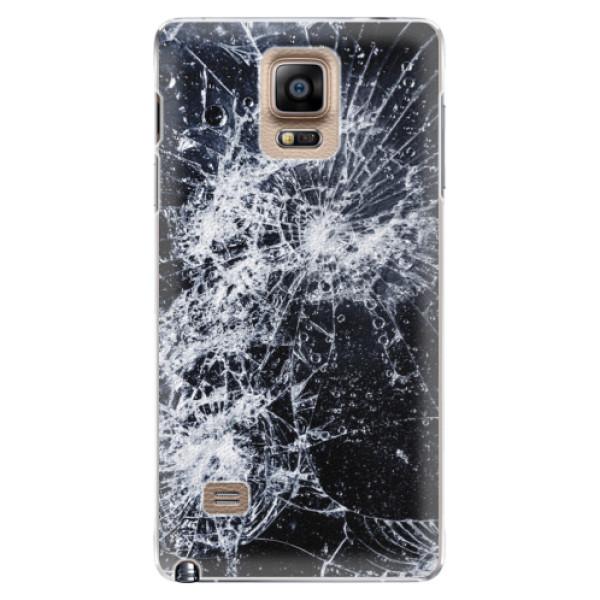 Plastové puzdro iSaprio - Cracked - Samsung Galaxy Note 4