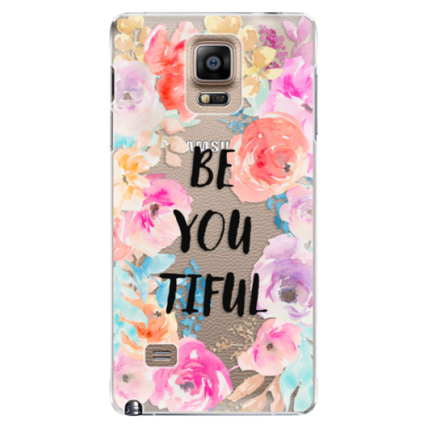 Plastové puzdro iSaprio - BeYouTiful - Samsung Galaxy Note 4