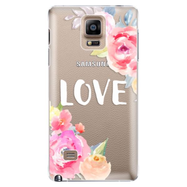 Plastové puzdro iSaprio - Love - Samsung Galaxy Note 4