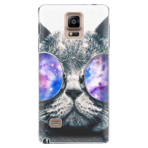 Plastové puzdro iSaprio - Galaxy Cat - Samsung Galaxy Note 4
