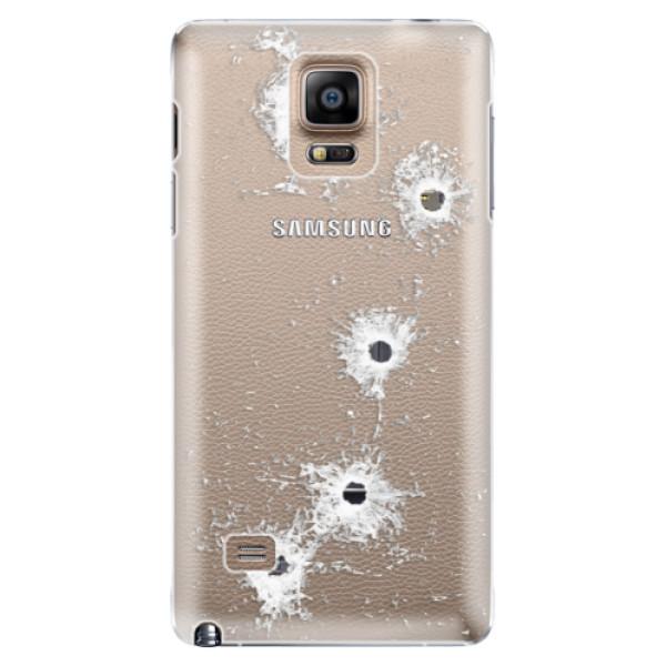 Plastové puzdro iSaprio - Gunshots - Samsung Galaxy Note 4