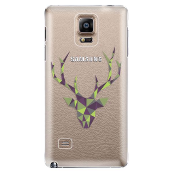 Plastové puzdro iSaprio - Deer Green - Samsung Galaxy Note 4