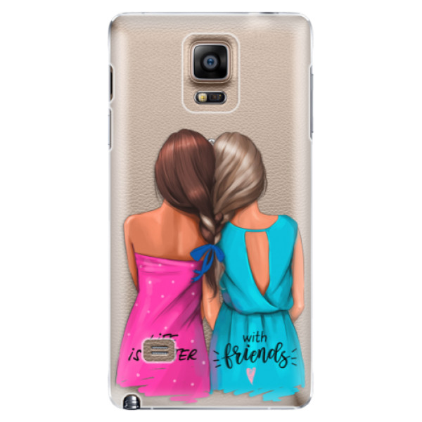 Plastové puzdro iSaprio - Best Friends - Samsung Galaxy Note 4