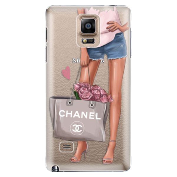 Plastové puzdro iSaprio - Fashion Bag - Samsung Galaxy Note 4