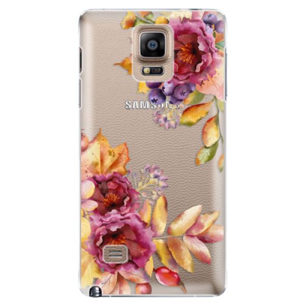 Plastové puzdro iSaprio - Fall Flowers - Samsung Galaxy Note 4