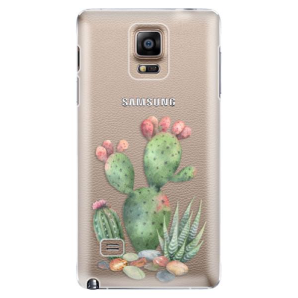 Plastové puzdro iSaprio - Cacti 01 - Samsung Galaxy Note 4