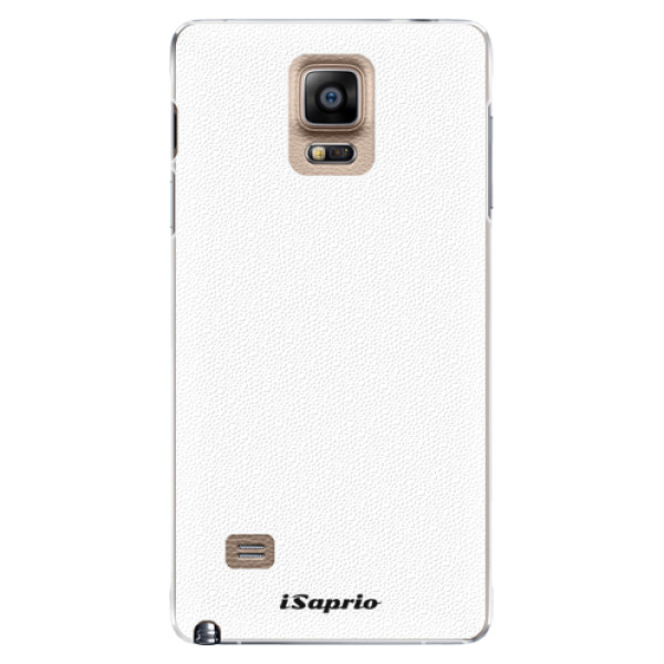 Plastové puzdro iSaprio - 4Pure - bílý - Samsung Galaxy Note 4