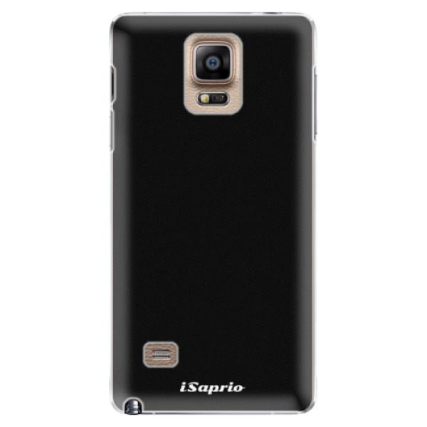 Plastové puzdro iSaprio - 4Pure - černý - Samsung Galaxy Note 4