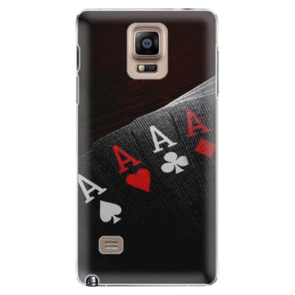 Plastové puzdro iSaprio - Poker - Samsung Galaxy Note 4