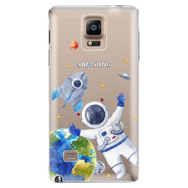 Plastové puzdro iSaprio - Space 05 - Samsung Galaxy Note 4