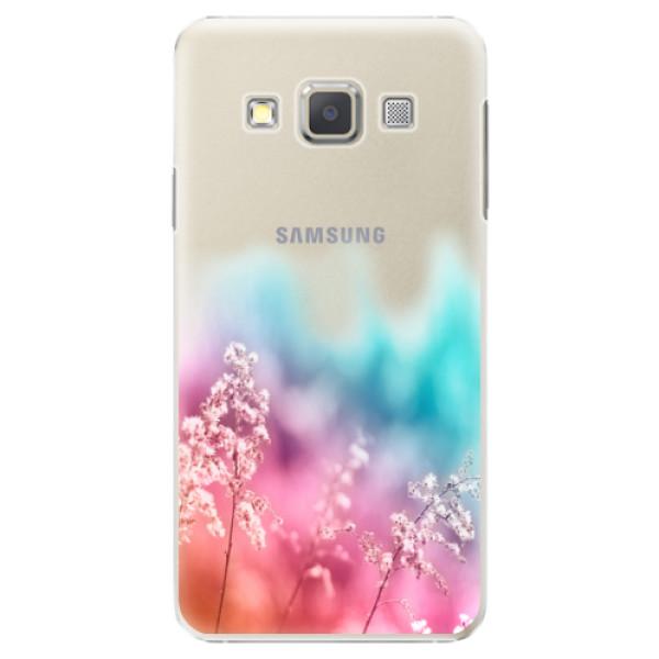 Plastové puzdro iSaprio - Rainbow Grass - Samsung Galaxy A3