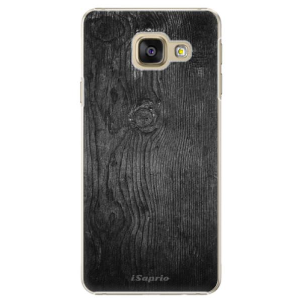 Plastové puzdro iSaprio - Black Wood 13 - Samsung Galaxy A3 2016