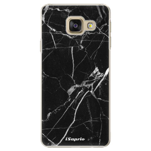 Plastové puzdro iSaprio - Black Marble 18 - Samsung Galaxy A3 2016