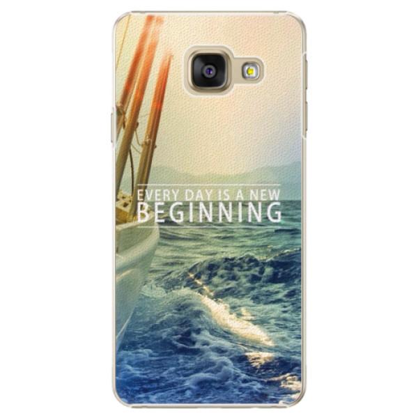Plastové puzdro iSaprio - Beginning - Samsung Galaxy A3 2016