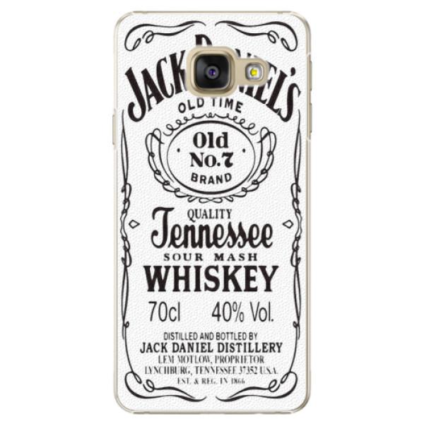 Plastové puzdro iSaprio - Jack White - Samsung Galaxy A3 2016