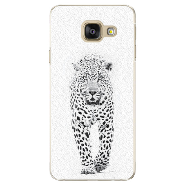 Plastové puzdro iSaprio - White Jaguar - Samsung Galaxy A3 2016