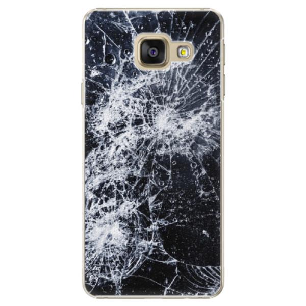 Plastové puzdro iSaprio - Cracked - Samsung Galaxy A3 2016