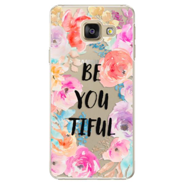 Plastové puzdro iSaprio - BeYouTiful - Samsung Galaxy A3 2016