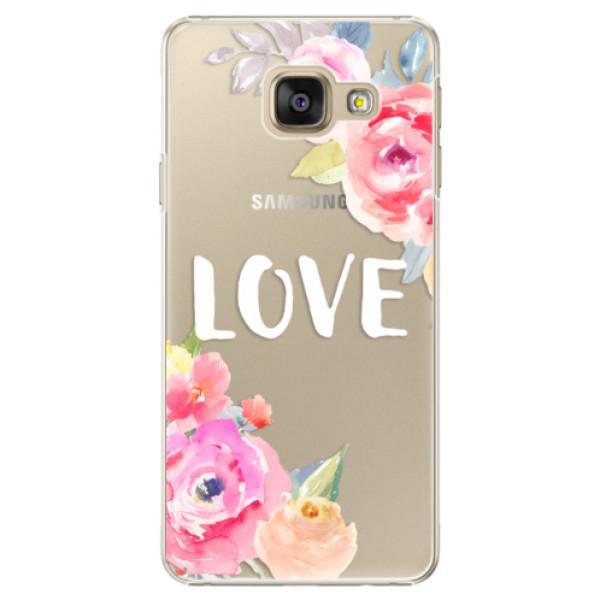 Plastové puzdro iSaprio - Love - Samsung Galaxy A3 2016