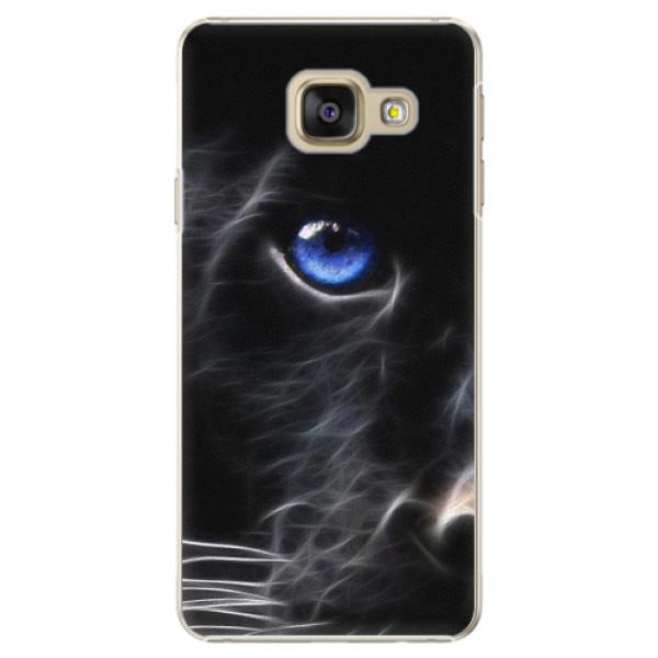 Plastové puzdro iSaprio - Black Puma - Samsung Galaxy A3 2016