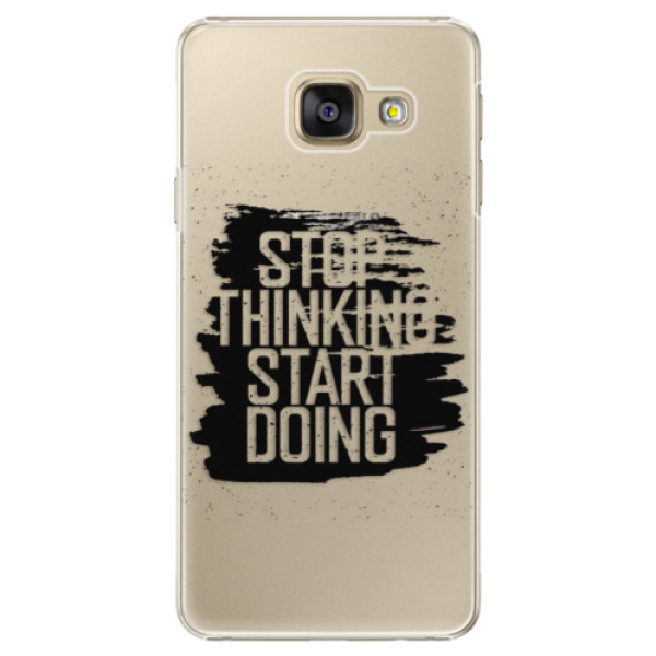 Plastové puzdro iSaprio - Start Doing - black - Samsung Galaxy A3 2016