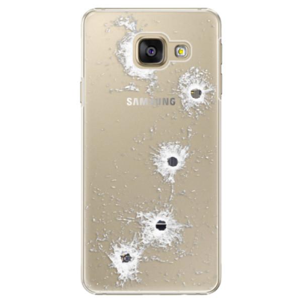 Plastové puzdro iSaprio - Gunshots - Samsung Galaxy A3 2016
