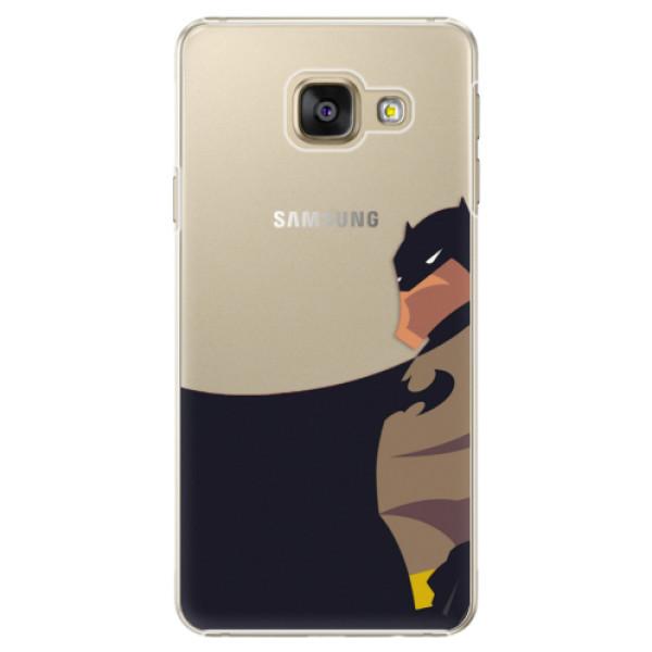 Plastové puzdro iSaprio - BaT Comics - Samsung Galaxy A3 2016