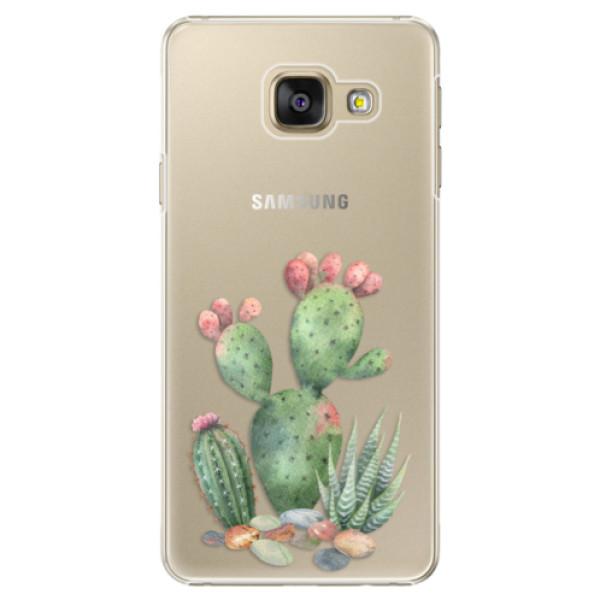 Plastové puzdro iSaprio - Cacti 01 - Samsung Galaxy A3 2016