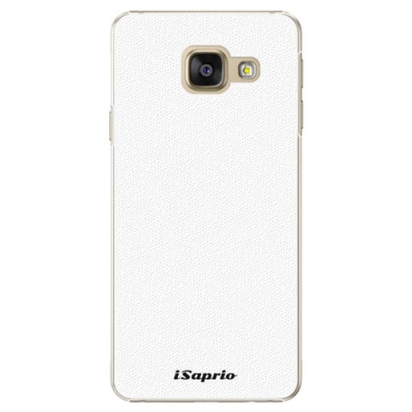 Plastové puzdro iSaprio - 4Pure - bílý - Samsung Galaxy A3 2016