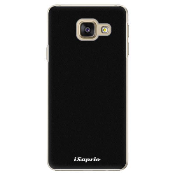 Plastové puzdro iSaprio - 4Pure - černý - Samsung Galaxy A3 2016