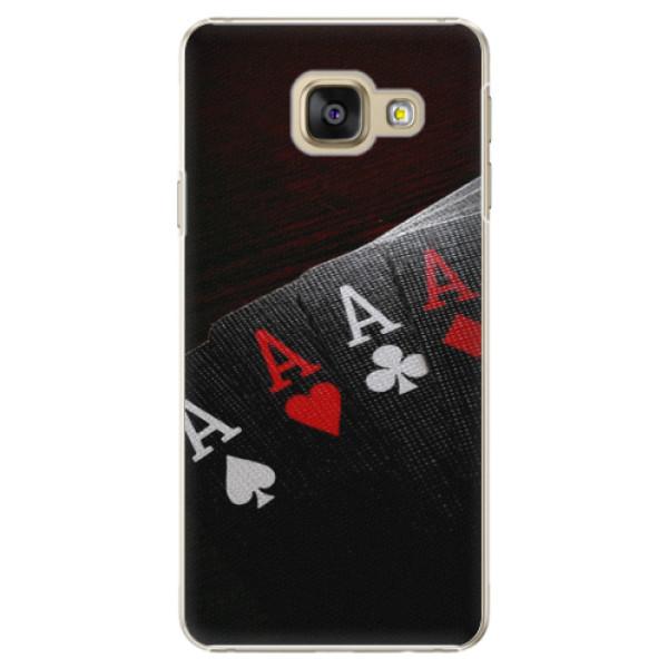 Plastové puzdro iSaprio - Poker - Samsung Galaxy A3 2016