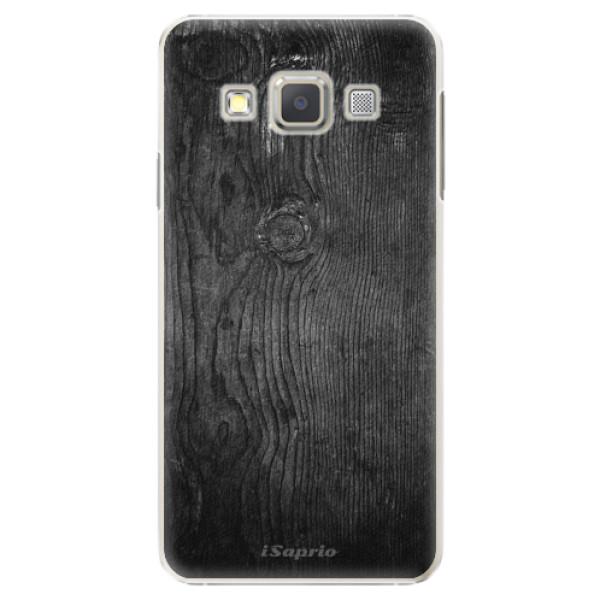 Plastové puzdro iSaprio - Black Wood 13 - Samsung Galaxy A5