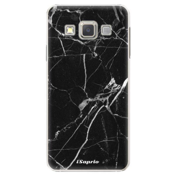 Plastové puzdro iSaprio - Black Marble 18 - Samsung Galaxy A5