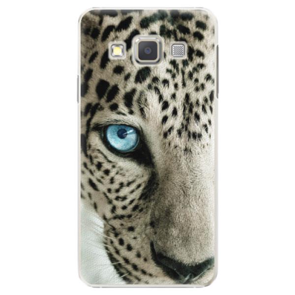 Plastové puzdro iSaprio - White Panther - Samsung Galaxy A5