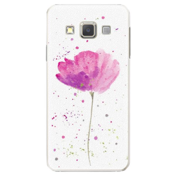 Plastové puzdro iSaprio - Poppies - Samsung Galaxy A5