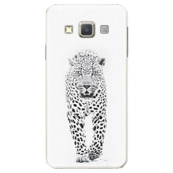 Plastové puzdro iSaprio - White Jaguar - Samsung Galaxy A5