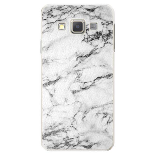 Plastové puzdro iSaprio - White Marble 01 - Samsung Galaxy A5