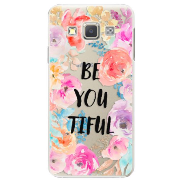 Plastové puzdro iSaprio - BeYouTiful - Samsung Galaxy A5