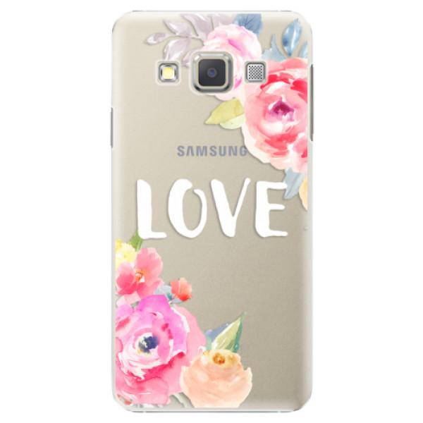 Plastové puzdro iSaprio - Love - Samsung Galaxy A5