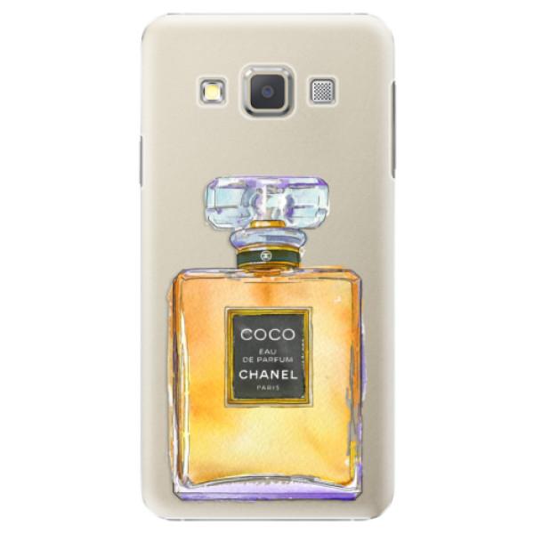 Plastové puzdro iSaprio - Chanel Gold - Samsung Galaxy A5